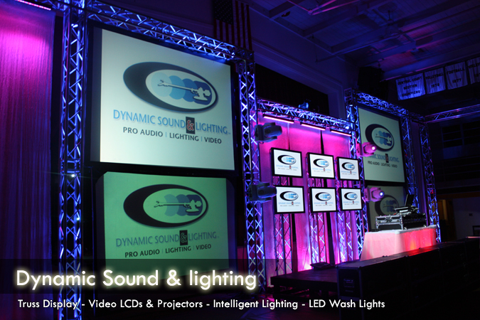 & Dynamic Sound and lighting Production Bay Area Party Rentals San Jose